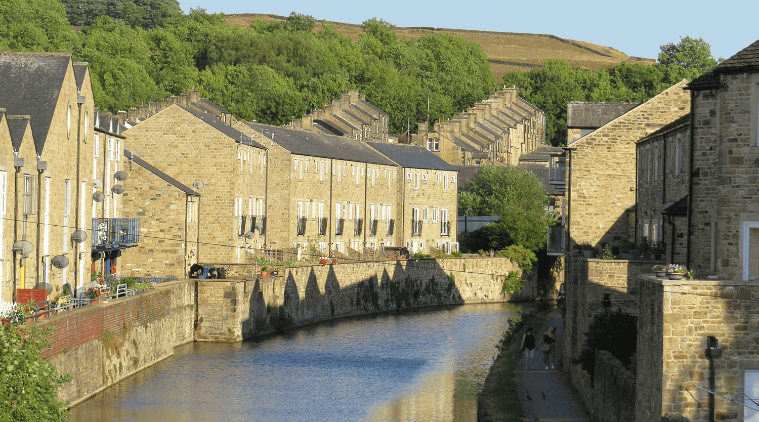 Canal Houses at Skipton